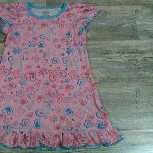Wonder Nation Girl's Sleepwear-(Size: XS/4-6)